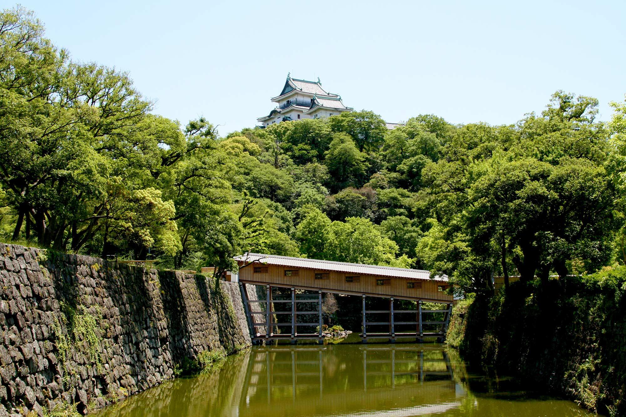 Wakayama Castle and Ohashi corridorの写真