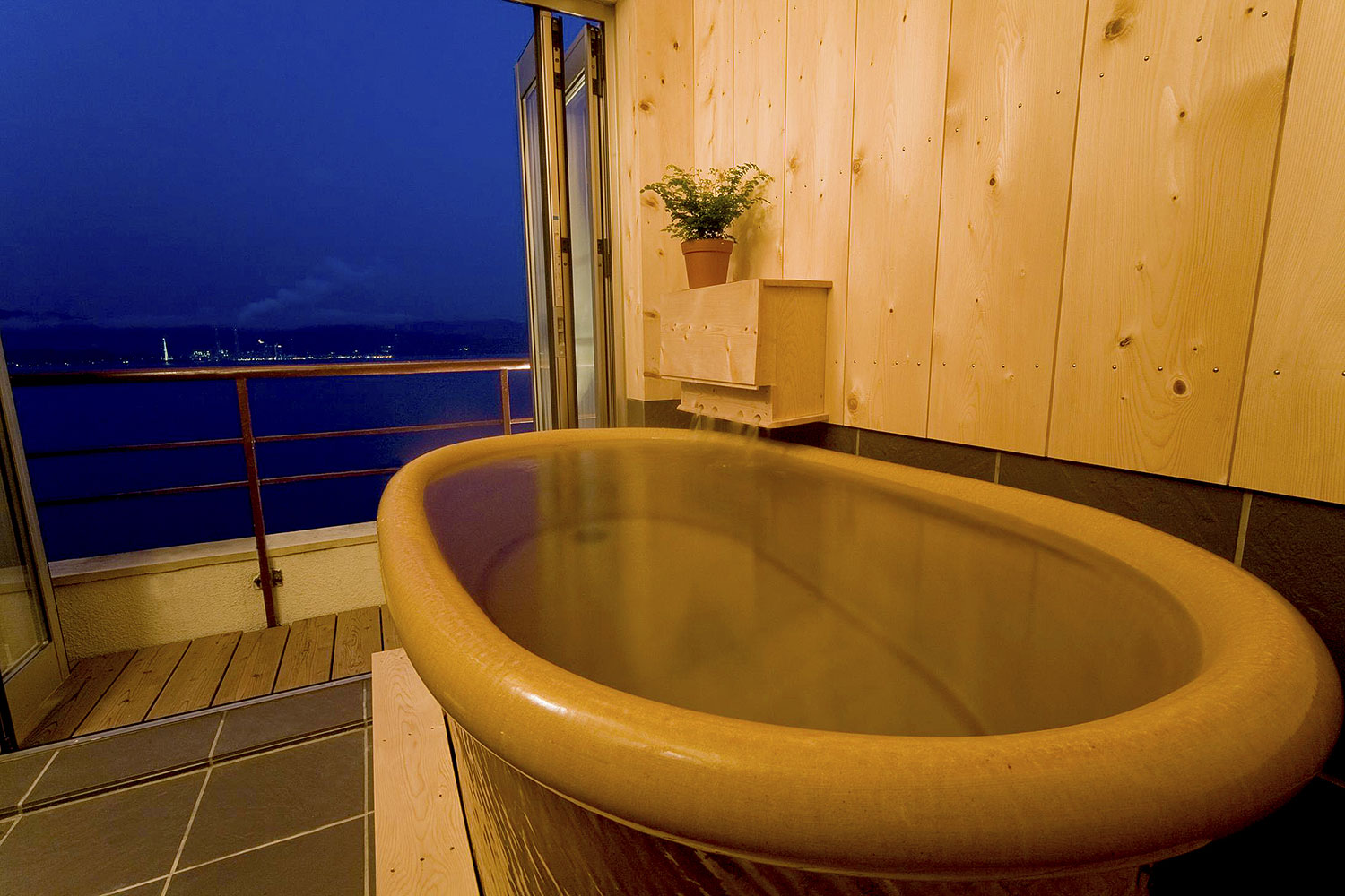 Wakanoura Onsen MANPA RESORT, Bathroom.の写真