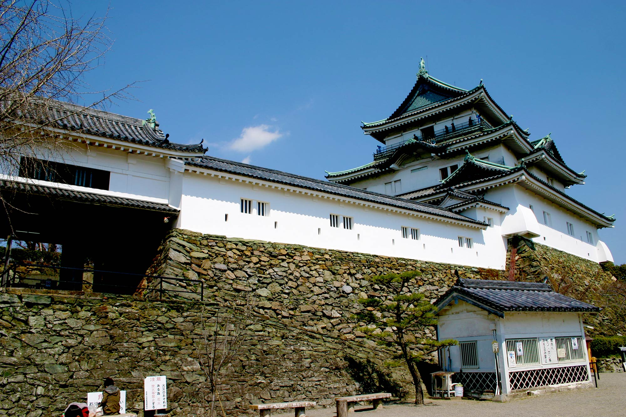 You can climb Wakayama Castle for a feeの写真