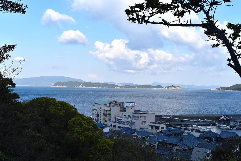 From the Gyoja Hall to Tomogashimaの写真