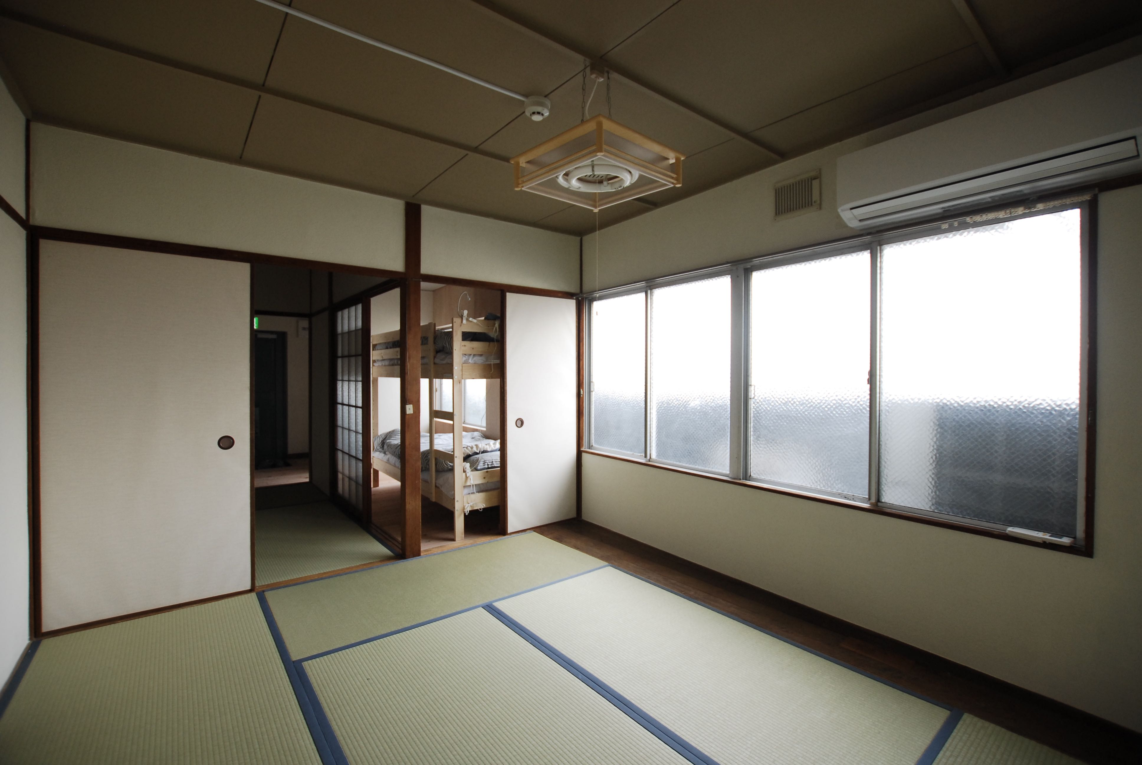 Typical Japanese room called