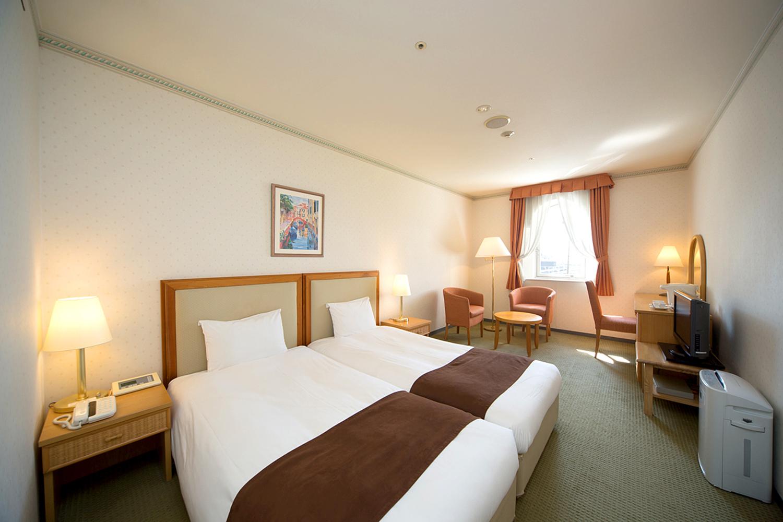 Wakayama Marina City Hotel, Twin room.の写真