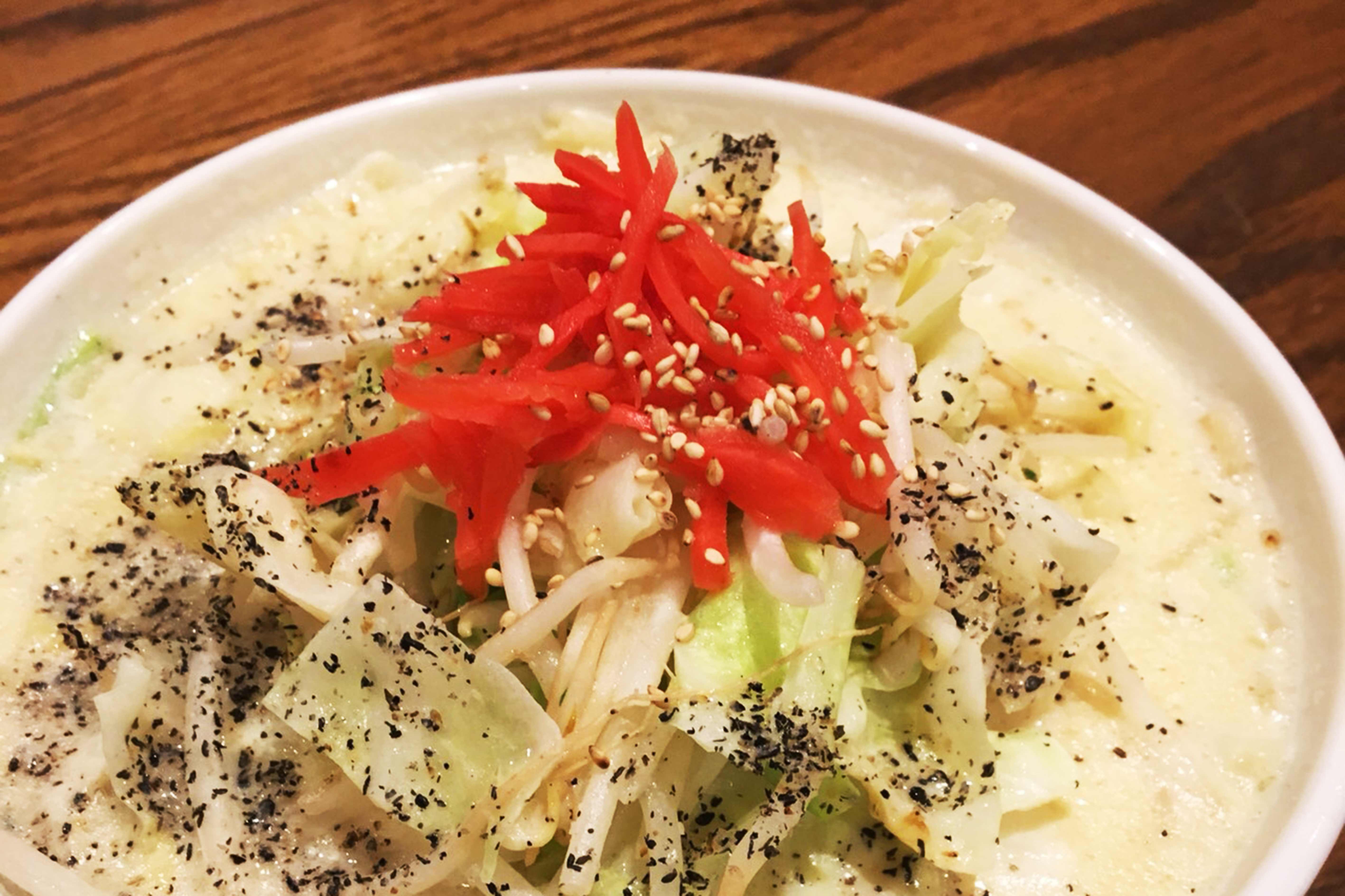 Vegetable noodlesの写真