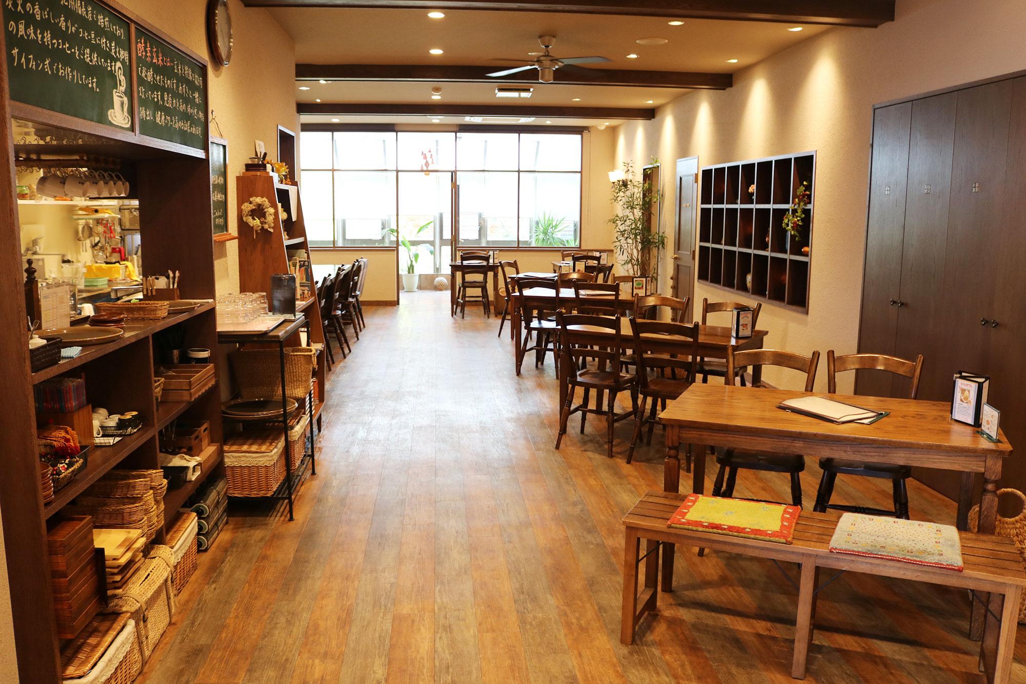Inside of the restaurantの写真