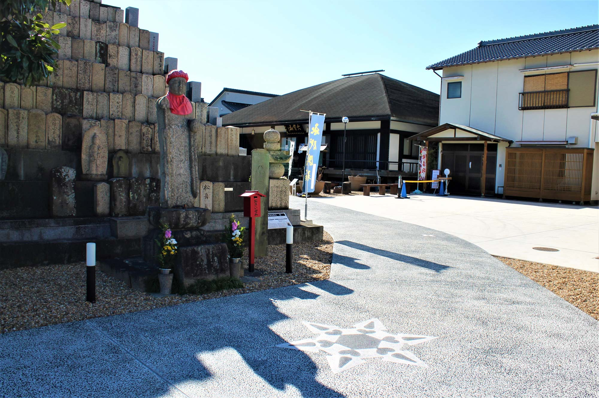 Panoramic view of the templeの写真