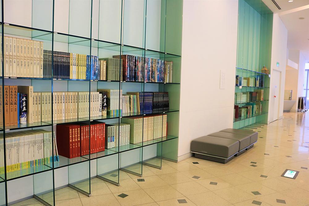 Document reading cornerの写真